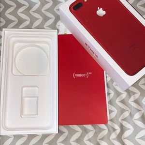 Apple Other - Red (empty) Apple iPhone 7 Plus box